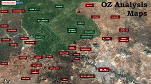 The Villages Map Syrian Army U0027s Advance Reopens Strategic Road In Northern Hama Map