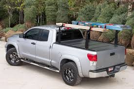 nissan frontier king cab roof rack 2005 2016 nissan frontier hard folding tonneau cover rack combo