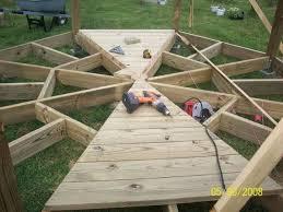gazebo build 1 laying it out woodworkingweb