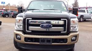 2013 ford f 250 lariat king ranch super duty with trailering