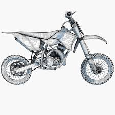 ktm motocross bike new ktm 50sx motocross bike 3d model u2013 3d horse
