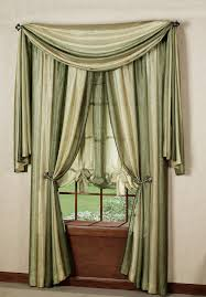Ombre Sheer Curtains Ombre Decorative Window Treatments Chocolate Achim