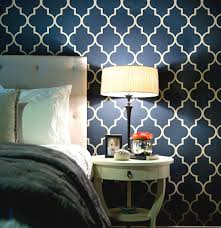 trellis wallpaper geometric pattern home design interior design
