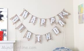 diy burlap u0026 lace shabby chic frozen birthday banner