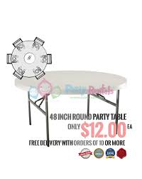 table rentals san diego 48 inch round party table rentals san diego round party table rentals