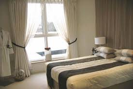 bedroom curtain ideas satin uk country color in stylish single shade colour shop privacy