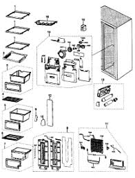 parts for samsung rs265tdbp xaa refrigerator