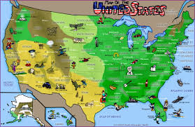 Map Of Southeastern United States by Map Of The United States By Freyfox On Deviantart