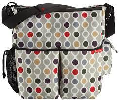 Sac A Langer Beaba Open Bag by Skip Hop Duo Deluxe Diaper Bag Wave Dot Best Price Baby Room
