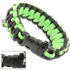 paracord survival whistle bracelet images Skullz survival whistle paracord bracelet neon green black jpg