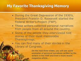 i remember thanksgiving ppt