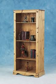 Mexican Pine Bookcase Decorating Classic Furniture Design Tall Bookshelves Cabinet