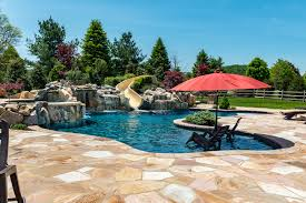 inground pools bloomsbury pools by design new jersey custom