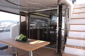 sliding glass panel doors boat door for yachts sliding with glass panel trend marine