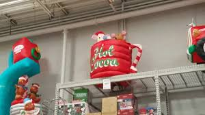 Blow Up Christmas Decorations At Lowes by Lowe U0027s Christmas Inflatables 2017 Youtube