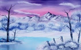 winter nature wallpapers wonderful winter painting hd nature wallpaper