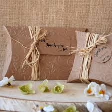 rustic wedding favors rustic wedding favor boxes craft pillow boxes party large pillow
