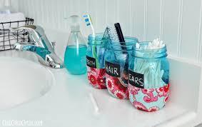 tween bathroom ideas bathroom organization jars diy club chica circle where