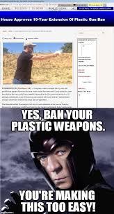 Magneto Meme - magneto plastic weapons imgflip