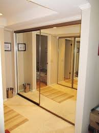 Retractable Closet Doors Take A Look At These Brushed Nickel Framed Pacifica Contractors