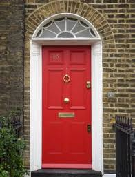 London Doors Front Door Victorian  Edwardian Door Home And - Red door furniture