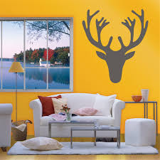 diy merry christmas decorations for home elk deer antlers wall