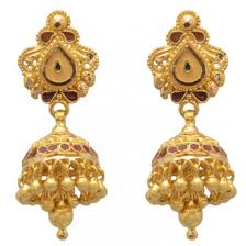 punjabi jhumka earrings buy punjabi jhumka price of punjabi jhumka
