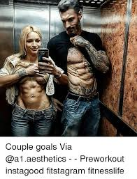 Fit Couple Meme - couple goals via preworkout instagood fitstagram fitnesslife