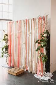 ribbon backdrop 25 gorgeous indoor wedding backdrops to try weddingomania