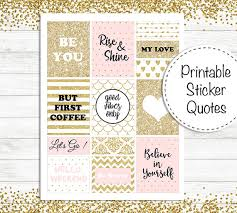 printable stencils quotes printable sticker quotes planner stickers quotes stickers