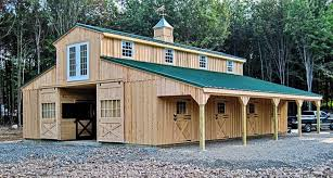 monitor modular horse barn horizon structures our monitor modular barns are favorite here horizon this barn essentially three separate