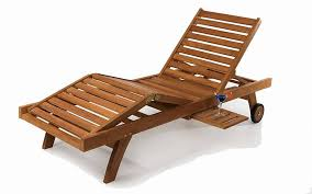 Pool Chaise Chaise Lounge Folding Wooden
