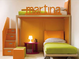 awesome bunk beds for girls cool bunk beds for girls with orange and green colors theme home