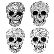 sugar skull coloring 2 sugar skulls sugaring kid