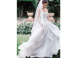 organza wedding dress vera wang white textured organza wedding dress 699 size 4