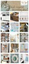 Beach Home Decorating Ideas 618 Best Beach Cottage Decor Images On Pinterest Beach Crafts