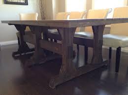 farmhouse dining table plans ideas
