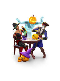 spooky png the sims 4 spooky stuff assets sims community