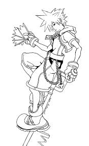 kingdom hearts coloring pages s