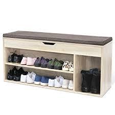 scarpiera ingresso homfa scarpiera panca di legno da ingresso sgabello porta scarpe