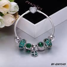pandora charms pandora bracelet images Elegant blue 7 pcs charm pandora bracelet jpg