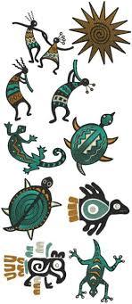 southwestern designs advanced embroidery designs southwestern indian motif set