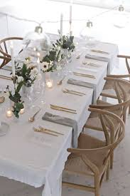 Tablecloth For Patio Table by Best 25 White Tablecloth Ideas On Pinterest Winter Party