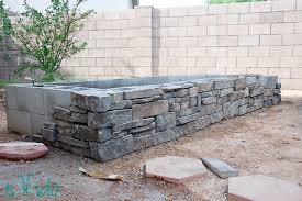 building a garden wall with concrete blocks best idea garden