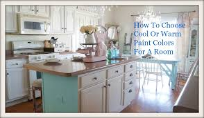 how to choose warm or cool paint white lace cottage