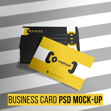 modern business card template psd file free download