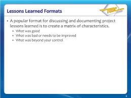lessons learnt report template ppt how to perform a lessons learned session with your project lessons learned formats team