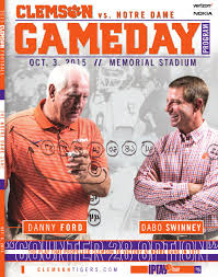 home depot black friday ad 2016 29678 clemson football 2016 syracuse gameday program by clemson