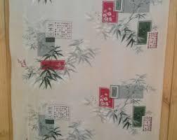 Asian Curtains Asian Curtains Etsy
