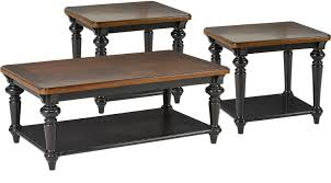 Rooms To Go Coffee Tables by 569 97 Eric Church Highway To Home Arrow Ridge Ebony 3 Pc Table